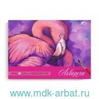 Планшет для акварели А4 «Фламинго» : арт.49801 (ТМ Феникс+)