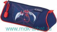 Пенал-косметичка «Red Robo Dragon» на молнии : Арт.50014484 (ТМ Herlitz)