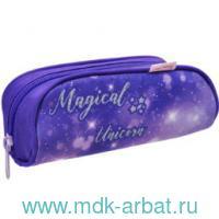 Пенал 14х20х4см «Magical Unicorn» на молнии : Арт.335-72/756 (ТМ Belmil)
