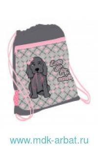 Мешок для обуви 35х43см «I Love Dog» : арт.336-91/754 (ТМ Belmil)