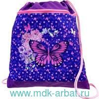 Мешок для обуви 35х43см «Fly Like a Butterfly» : Арт.336-91/781 (ТМ Belmil)
