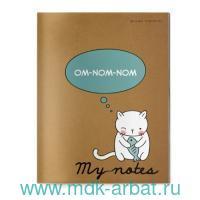 Тетрадь 40л. клетка «Cat's breakfast» прошив. : арт.7-40-085 (ТМ Альт)