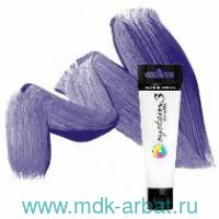 Акрил 59мл «System 3» фиолетовый темный : арт.129059408 (ТМ Winsor&Newton)