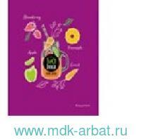 Тетрадь 48л.кл«Juice detox»фуксия скр. Арт.ТК486483