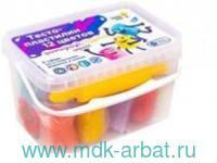 Набор 12 цветов «Тесто-пластилин»+формочки : артикул TA1068V (ТМ Genio Kids)