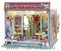 Конструктор интерьерный «The Encounter Cafe» : Арт.TD02W (ТМ Robotime)
