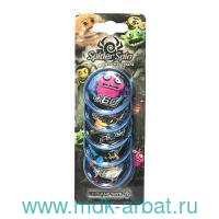 Жетоны «Spider spin. Collective tokens» : Арт.CT-SS-002T-BLU : ТМ CatchUp Toys