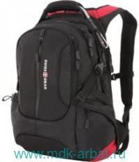 Рюкзак 36х17х50 см, черно-красный. Арт.SA15912215 (ТМ Swiss Gear)