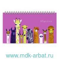 Планинг недатированный 64 листа «Забавные животные» гребень : Арт.50690 (ТМ Феникс+)