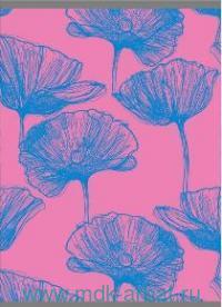 Тетрадь А4 48 листов клетка «Неоновые идеи. Дизайн 4» скрепка розовый : Арт.ТЛ4484627