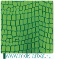 Книга для записей 130х130 «Рептилия» зеленый ляссе : Арт.50396 (ТМ Escalada)