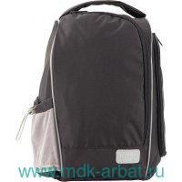 Сумка для обуви 33х23х15.5см «Education» черная : Арт.K19-610-S-4 (ТМ Kite)