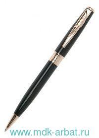 Ручка шариковая Secret латунь/лак/позолота, цвет черный : Арт.РСА1060ВР (ТМ Pierre Cardin)