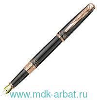Ручка перьевая Secret латунь/лак/позолота, цвет черный : Арт.PCA1062FP (ТМ Pierre Cardin)