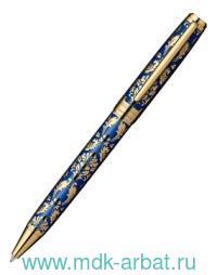 Ручка шариковая Renaissance латунь, цвет синий/золотой : Арт.РС8302ВР (ТМ Pierre Cardin)