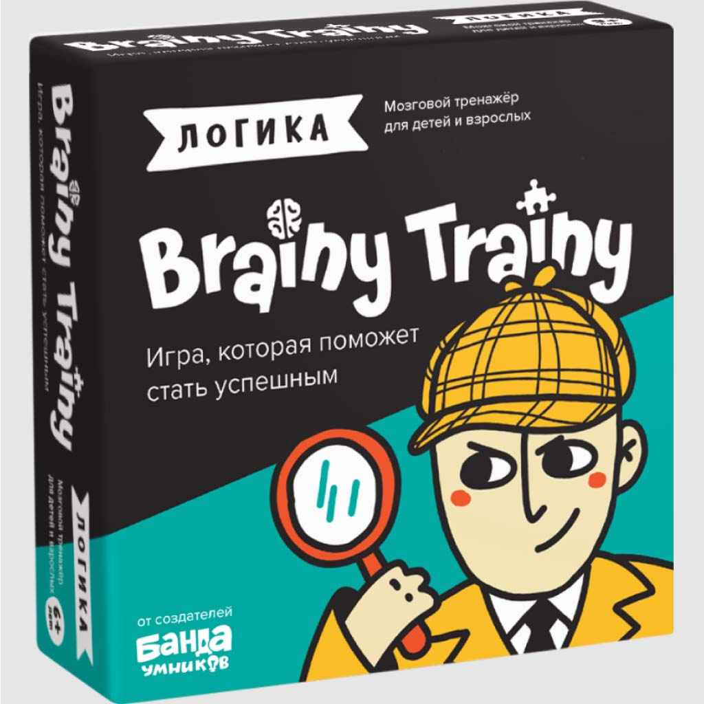Игра настольная «Логика» : арт.УМ266 (ТМ «Brainy Trainy»)