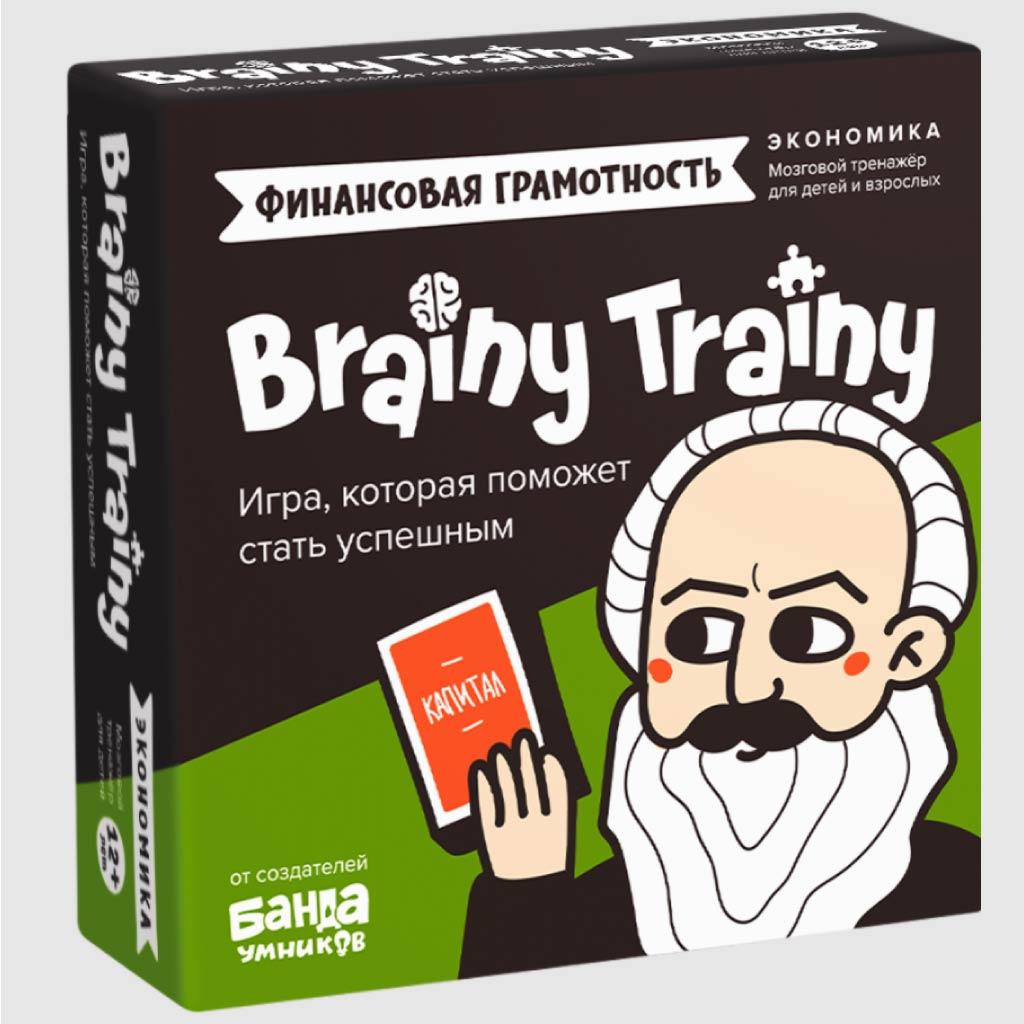 Игра настольная «Экономика» : Арт.УМ267 (ТМ Brainy trainy)