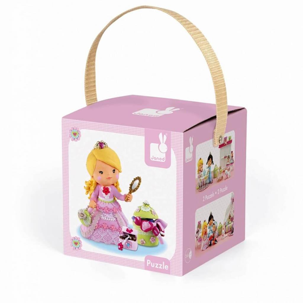 Пазл «Принцесса Роза» в чемоданчике : Арт.J02770 (ТМ Janod)