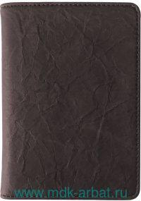 Обложка для автодокументов «Modern» : материал - кожезаменитель, цвет - коричневый : арт.IDL032/BROWN (ТМ «In Folio»)