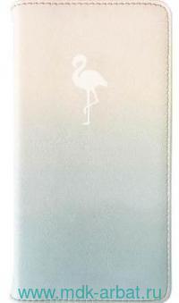 Книга для записей А6 96л.«Flamingo» мягкая обложка : Арт.AZ950