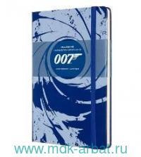 Книга для записей А5 96 листов линия «James Bond» : Арт.1139386 (ТМ Moleskine)