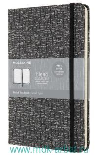 Книга для записей «Lе Blend» : формат А5, 96 листов, на резинке, серая : арт.1139381 (ТМ Moleskine)