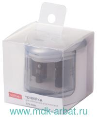Точилка электрическая «EPS-9004» 2 отверстия, в пластиковом боксе : Арт.ES_060426 (ТМ Hatber)