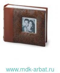 Фотоальбом 100фото 10х15см коричневый : арт.390693 (ТМ Brauberg)