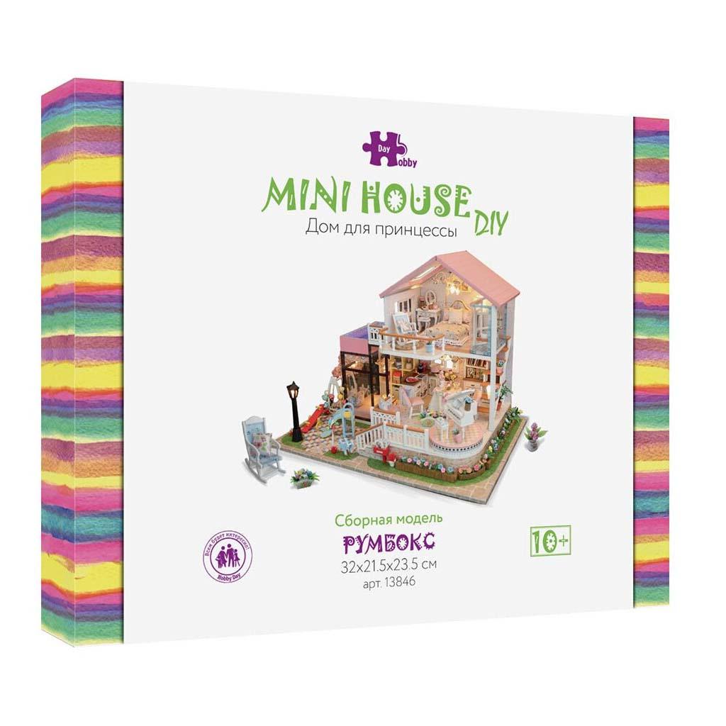 Конструктор интерьерный «Дом для принцессы» : Арт.13846 (ТМ Hobby Day)