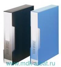 Папка А4 100 файлов «Econom» черная : Арт.NF100AK-1BLK (ТМ Comix)