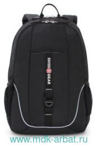Рюкзак, 33х16.5х46 см, черный. Арт.SA6639202408 (ТМ SWISS GEAR)