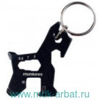 Брелок-мультитул «Keychain Tool Dog» черный. Арт.2535/1143897 (ТМ Munkees)