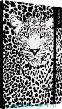 Бизнес-блокнот А5 96 листов «Леопард» на резинке : Арт.51531 (ТМ Escalada)