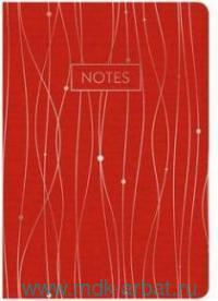 Тетрадь 48 листов «Золотые линии» красный : Арт.ТКФ486870 (ТМ Канц-Эксмо)