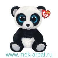 Игрушка мягкая 25 см «Панда Бамбу» черно-белая : Арт.36463 (ТМ TY.)