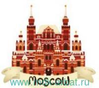 Магнит 3D «Исторический музей» деревянный : Арт.3D003 (ТМ Magniart)