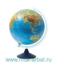 Интерактивный глобус Globen d=32 см с рельефом и подсветкой от батареек : Арт.INT13200291 (ТМ Globen)