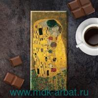 Шоколад 100г Густав Климп «Поцелуй» : Арт.091 (ТМ Chocoidea)