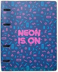 Тетрадь со сменным блоком 120 листов клетка «Neon tropic» : Арт.N1820 (ТМ InFolio)