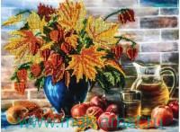 Набор для вышивания бисером «Сентябрь» : арт.9090-СМ 9ф (ТМ Белоснежка)