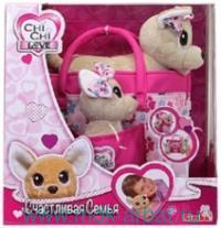Игрушка мягкая «Собачки Chi-Chi семья» : Арт.5893213 (ТМ Simba)