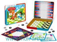 Набор игровой «Шахматы и шашки» 4 в 1, магнитный : Арт.BG-003 (ТМ Magneticus)