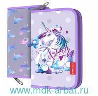 Пенал 135х205х30мм «Dream Unicorn» Арт.48487 (ТМ Erich Krause)