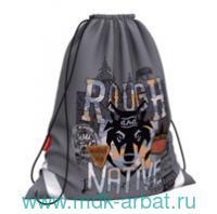 Мешок для обуви 36х44см «Rough Native» : Арт.48585 (ТМ Erich Krause)