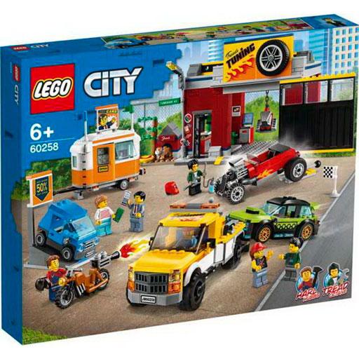 Конструктор «City TurboWheels. Тюнинг-мастерская» : Арт.60258 (ТМ Lego)