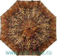 Зонт женский «Airton» 3 сложения, механизм раскрытия - автоматический : арт.3915-ZM169 (ТМ «Airton»)