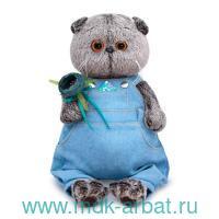 Игрушка мягкая 30см «Басик в голубом комбинезоне» : арт.Ks30-142 (ТМ «BUDIBASA»)