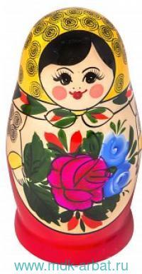 Матрёшка 6-ти кукольная. Семеновская традиционная роспись : Арт.200903-0020-483 (ТМ Вятский сувенир)