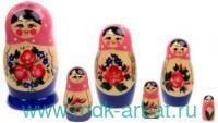 Матрёшка 6-ти кукольная. Семеновская нетрадиционная роспись: Арт.200903-0020-533 (ТМ Вятский сувенир)
