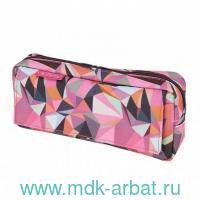 Пенал-косметичка «Purple» 1 боковой карман : Арт.50026609 (ТМ Herlitz)